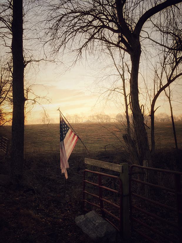 America the beautiful, Sumner County, Tennessee   Photograph submitted by C. E. Dixon III