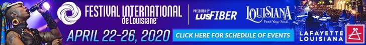 Festival International Lafayette, Louisiana